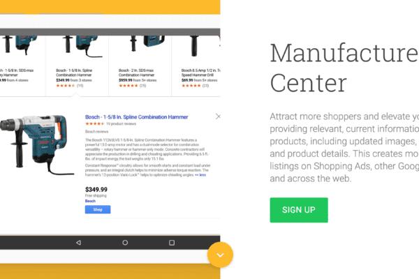 google manufacturing center
