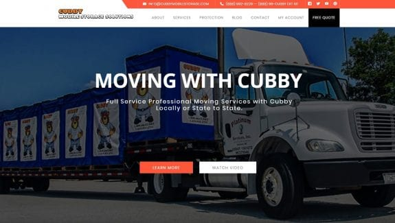 cubby mobile storage