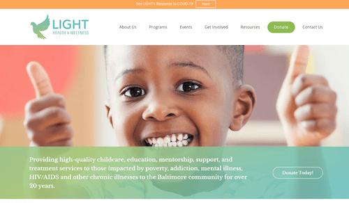 Light Health & Wellness Home Page Image
