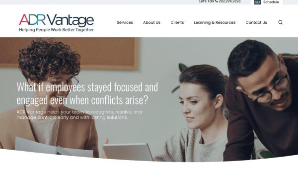 ADR Vantage Home Page